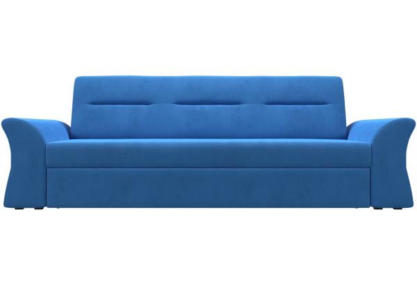 Прямой диван Клайд Голубой (Велюр) - фото 2