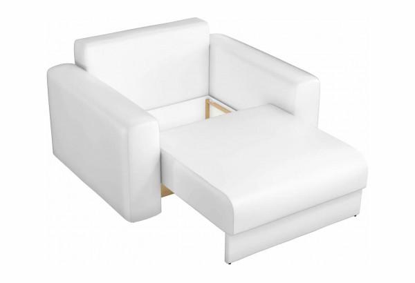 Кресло Мэдисон Белый (Экокожа) - фото 2
