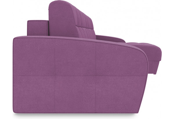 Диван угловой правый «Аспен Slim Т1» (Maserati 18 (велюр) фиолетовый) - фото 3