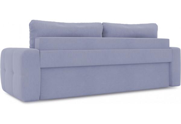 Диван «Томас» (Poseidon Blue Graphite (иск.замша) серо-фиолетовый) - фото 3