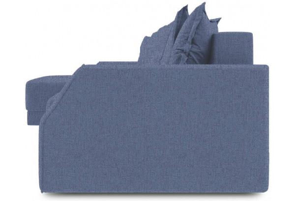 Диван угловой левый «Люксор Slim Т1» (Levis 78 (рогожка) Темно-синий) - фото 3