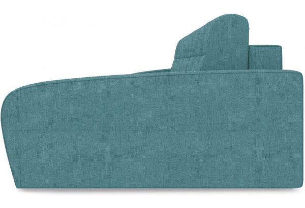 Диван угловой правый «Аспен Slim Т2» (Levis 74 (рогожка) Изумрудный) - фото 4