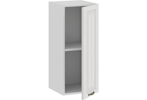 Шкаф навесной c одной дверью «Лина» (Белый/Белый) - фото 2