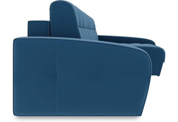 Диван угловой правый «Аспен Slim Т2» (Beauty 07 (велюр) синий) - фото 3