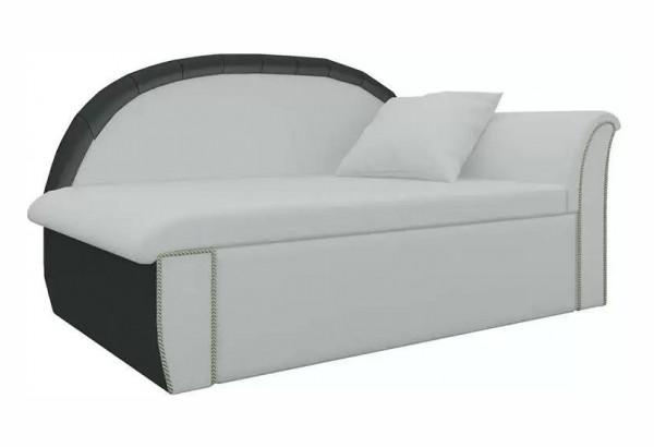 Кушетка Кипр-1 (Белый\Черный) Белый/Черный (Экокожа) - фото 1