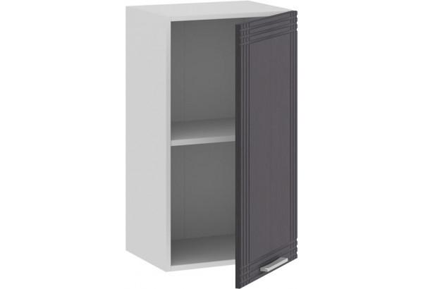 Шкаф навесной c одной дверью «Ольга» (Белый/Графит) - фото 2