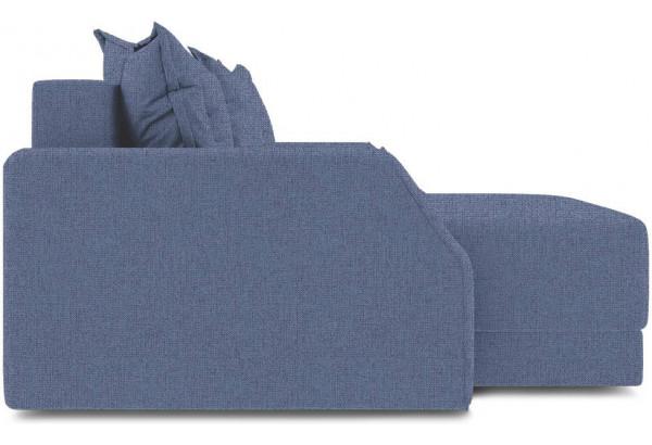 Диван угловой левый «Люксор Slim Т1» (Levis 78 (рогожка) Темно-синий) - фото 5