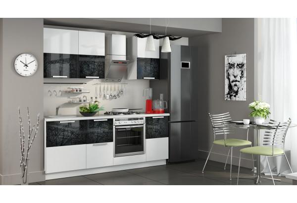 Кухонный гарнитур длиной - 210 см (со шкафом НБ) Фэнтези (Лайнс) - фото 2