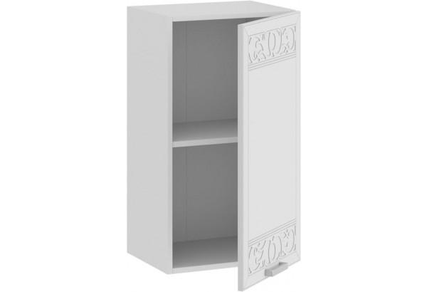 Шкаф навесной c одной дверью «Долорес» (Белый/Сноу) - фото 2