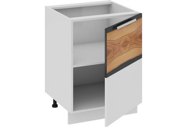 Шкаф напольный (правый) Фэнтези (Вуд) 600x582x822 - фото 1