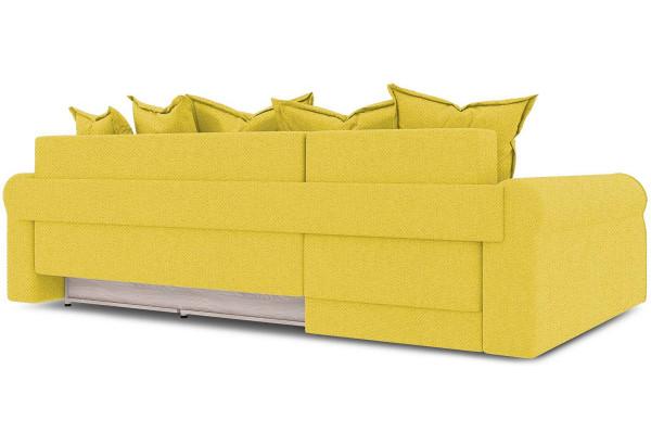 Диван угловой левый «Люксор Т2» (Neo 08 (рогожка) желтый) - фото 4