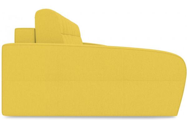 Диван угловой левый «Аспен Slim Т2» (Neo 08 (рогожка) желтый) - фото 4