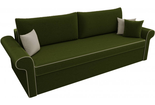 Диван прямой Милфорд Зеленый (Микровельвет) - фото 4