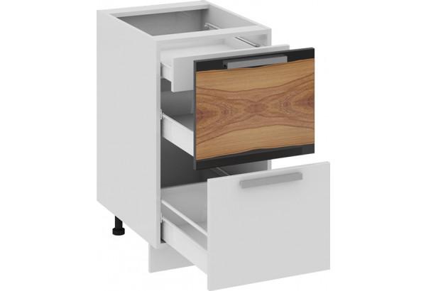 Шкаф напольный с 2-мя ящиками и 1-м внутренним Фэнтези (Вуд) - фото 1