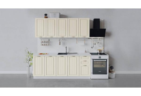 Кухонный гарнитур «Лина» длиной 200 см (Белый/Крем) - фото 1