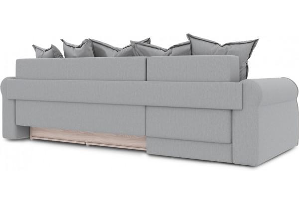 Диван угловой левый «Люксор Т1» (Poseidon Grey (иск.замша) серый) - фото 4