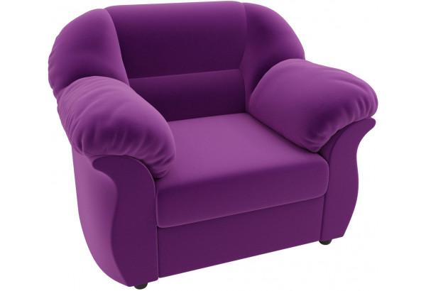 Кресло Карнелла Фиолетовый (Микровельвет) - фото 4
