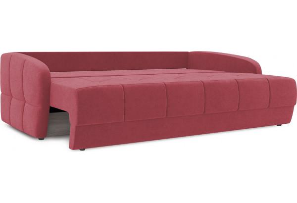 Диван «Аспен Slim» Maserati 14 (велюр), бордовый - фото 6