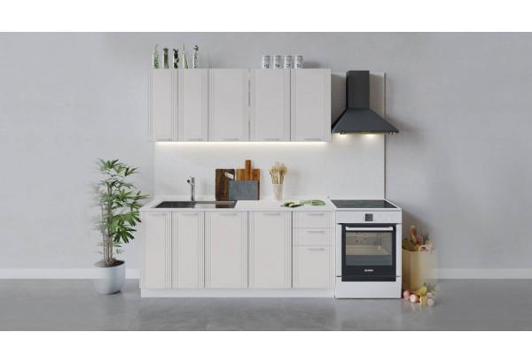 Кухонный гарнитур «Ольга» длиной 180 см (Белый/Белый) - фото 1