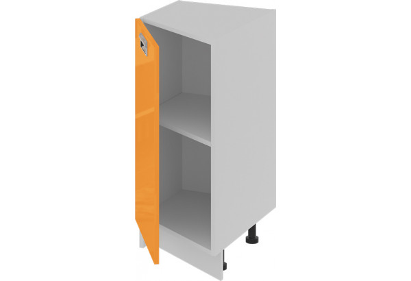 Шкаф напольный торцевой (левый) (БЬЮТИ (Оранж)) - фото 2