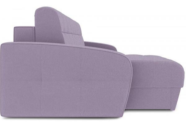 Диван угловой левый «Аспен Slim Т1» (Neo 09 (рогожка) фиолетовый) - фото 4