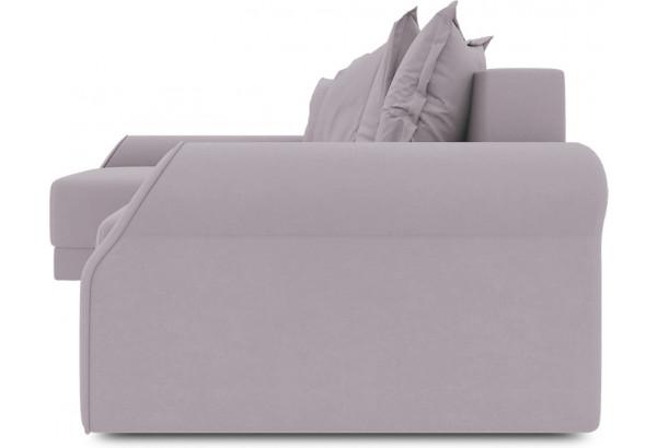 Диван угловой левый «Люксор Т2» (Poseidon Pale Lavender (иск.замша) бледно-лавандовый) - фото 3