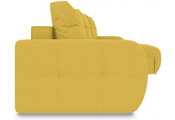 Диван угловой правый «Томас Т1» (Neo 08 (рогожка) желтый) - фото 5