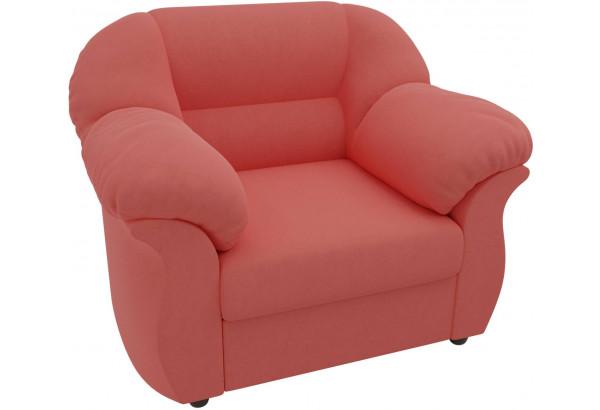 Кресло Карнелла Коралловый (Микровельвет) - фото 3