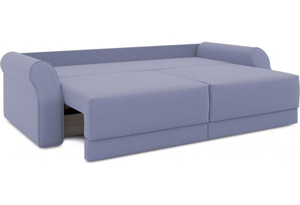 Диван «Люксор» (Poseidon Blue Graphite (иск.замша) серо-фиолетовый) - фото 6