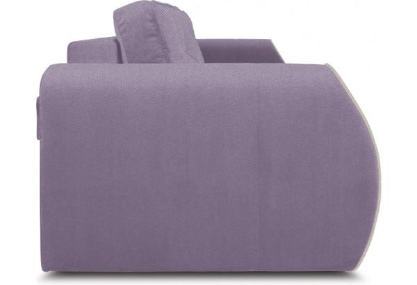 Диван «Хьюго» (Neo 09 (рогожка) фиолетовый кант Neo 02 (рогожка) бежевый) - фото 3