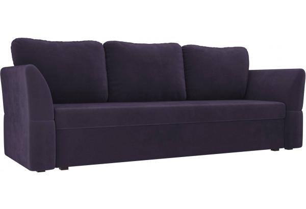 Диван прямой Гесен Фиолетовый (Велюр) - фото 1