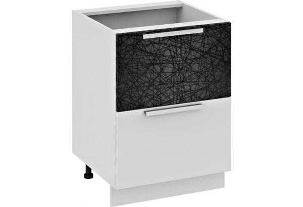 Шкаф напольный с 2-мя ящиками и 1-м внутренним (Фэнтези (Лайнс)) - фото 1