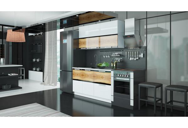 Кухонный гарнитур длиной - 210 см Фэнтези (Вуд) - фото 2