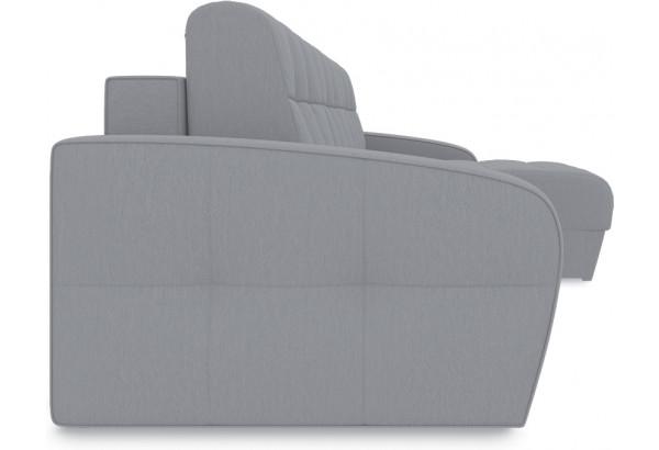 Диван угловой правый «Аспен Slim Т1» (Poseidon Grey (иск.замша) серый) - фото 3