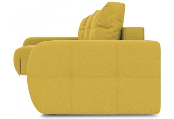 Диван угловой левый «Томас Т2» (Poseidon Curcuma (иск.замша) желтый) - фото 3