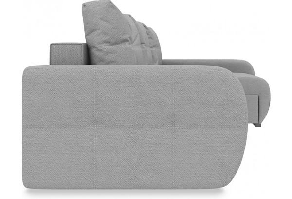 Диван угловой правый «Томас Slim Т2» (Neo 07 (рогожка) светло-серый) - фото 5