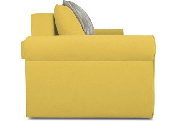 Диван «Шерри» Maserati 11 (велюр) желтый, подушки Tiffany laguna (шинил) морская волна - фото 4