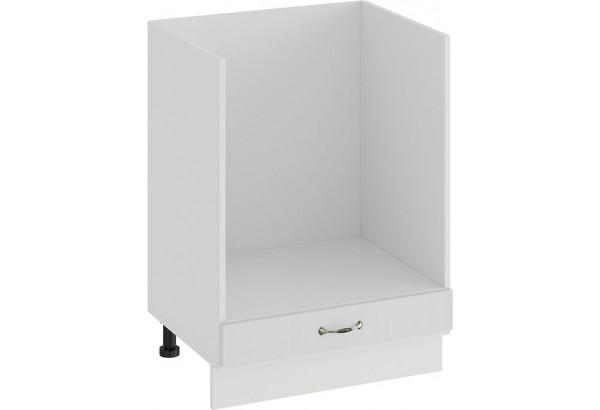 Шкаф напольный под бытовую технику «Бьянка» (Белый/Дуб белый) - фото 1