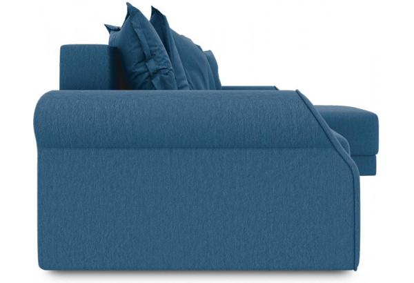 Диван угловой правый «Люксор Т1» Beauty 07 (велюр) синий - фото 3