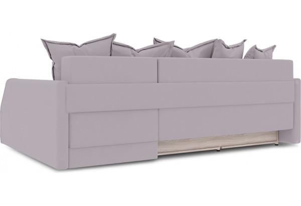 Диван угловой правый «Люксор Slim Т2» (Poseidon Pale Lavender (иск.замша) бледно-лавандовый) - фото 4