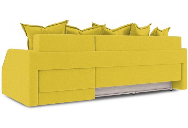 Диван угловой правый «Люксор Slim Т1» Maserati 11 (велюр) желтый - фото 4