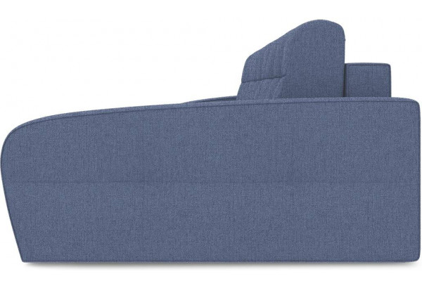 Диван угловой правый «Аспен Т2» (Levis 78 (рогожка) Темно-синий) - фото 4