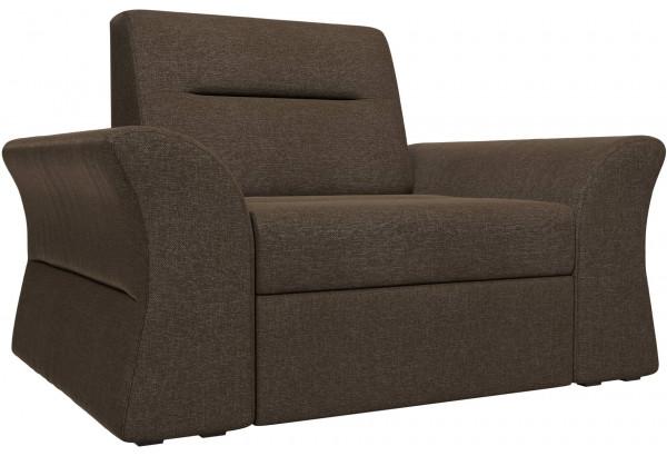 Кресло Клайд Коричневый (Рогожка) - фото 1