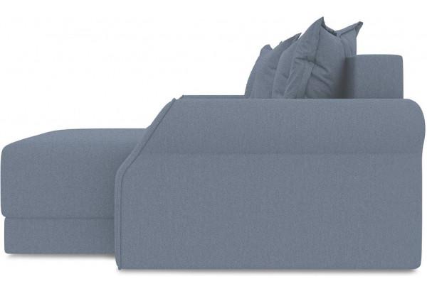 Диван угловой правый «Люксор Т1» (Neo 07 (рогожка) светло-серый) - фото 4
