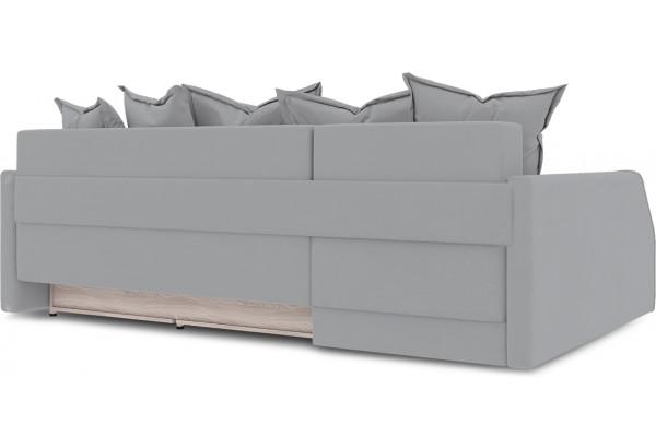 Диван угловой левый «Люксор Slim Т2» (Poseidon Grey (иск.замша) серый) - фото 4