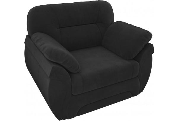 Кресло Бруклин Черный (Велюр) - фото 4