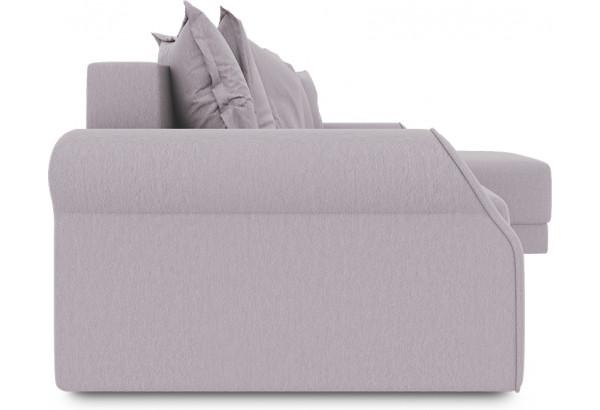 Диван угловой правый «Люксор Т1» (Poseidon Pale Lavender (иск.замша) бледно-лавандовый) - фото 3