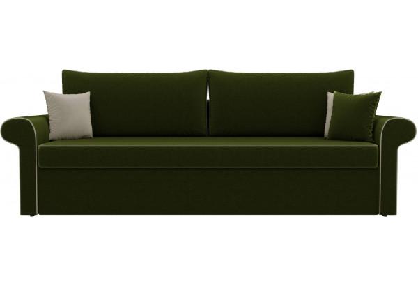 Диван прямой Милфорд Зеленый (Микровельвет) - фото 2