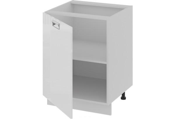 Шкаф напольный (левый) (БЬЮТИ (Белая)) - фото 2