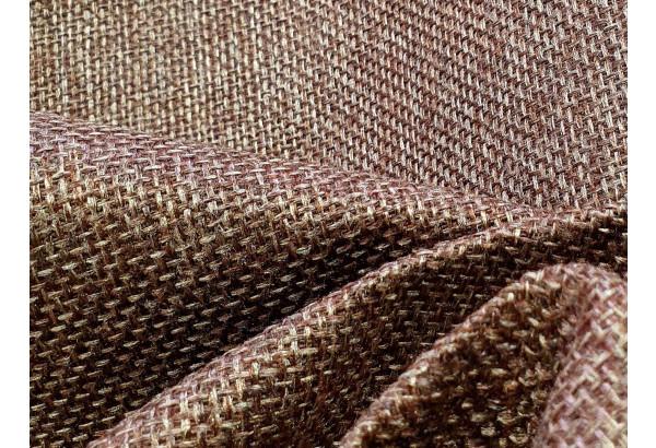 Диван прямой Модена с двумя пуфами коричневый/Серый (Рогожка) - фото 8